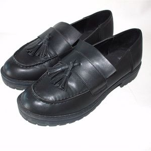 Wild Fable Black Chunky Mens wear Inspired Loafers